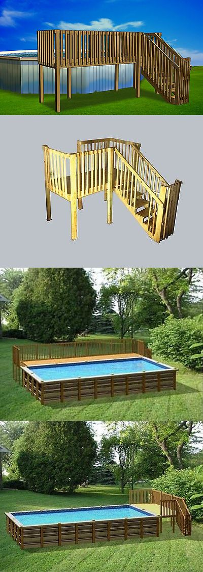 Pool Fences 167851 4 X16 Diy Deck, Fence, Ladder And Enclosure Gate