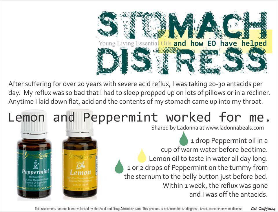 Yleo stomach distress
