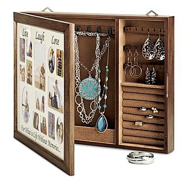 Inspired Message Wall Mount Photo Jewelry Box jcpenney Crafty