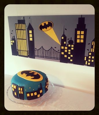 Batman cake for my sons  birthday party.
