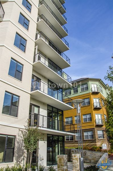 Beautiful High Rise With Lots Of Glass, And Great Balconies. Taylor Uptown  Apartments In