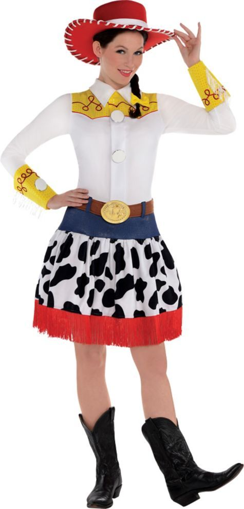Adult Jessie Costume Deluxe - Toy Story - Party City - Halloween Costumes - Pinterest - More Toy ...