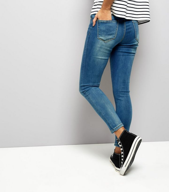 Womens Supersoft Superskinny Skinny Jeans New Look Petite AmVtB7Y