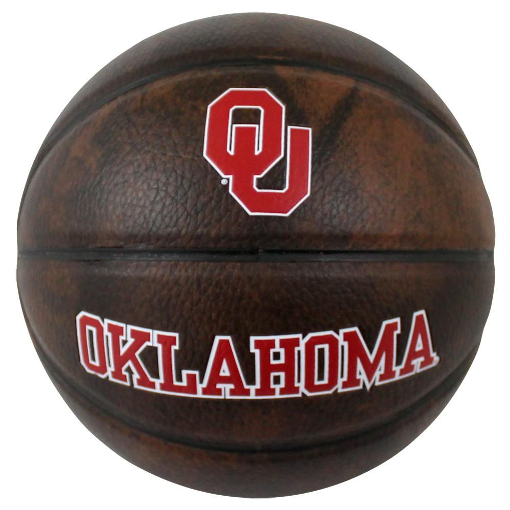 "Oklahoma Sooners Vintage 3"" Mini Basketball   Small fan ..."