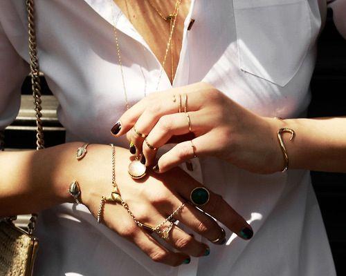 Rings and nails