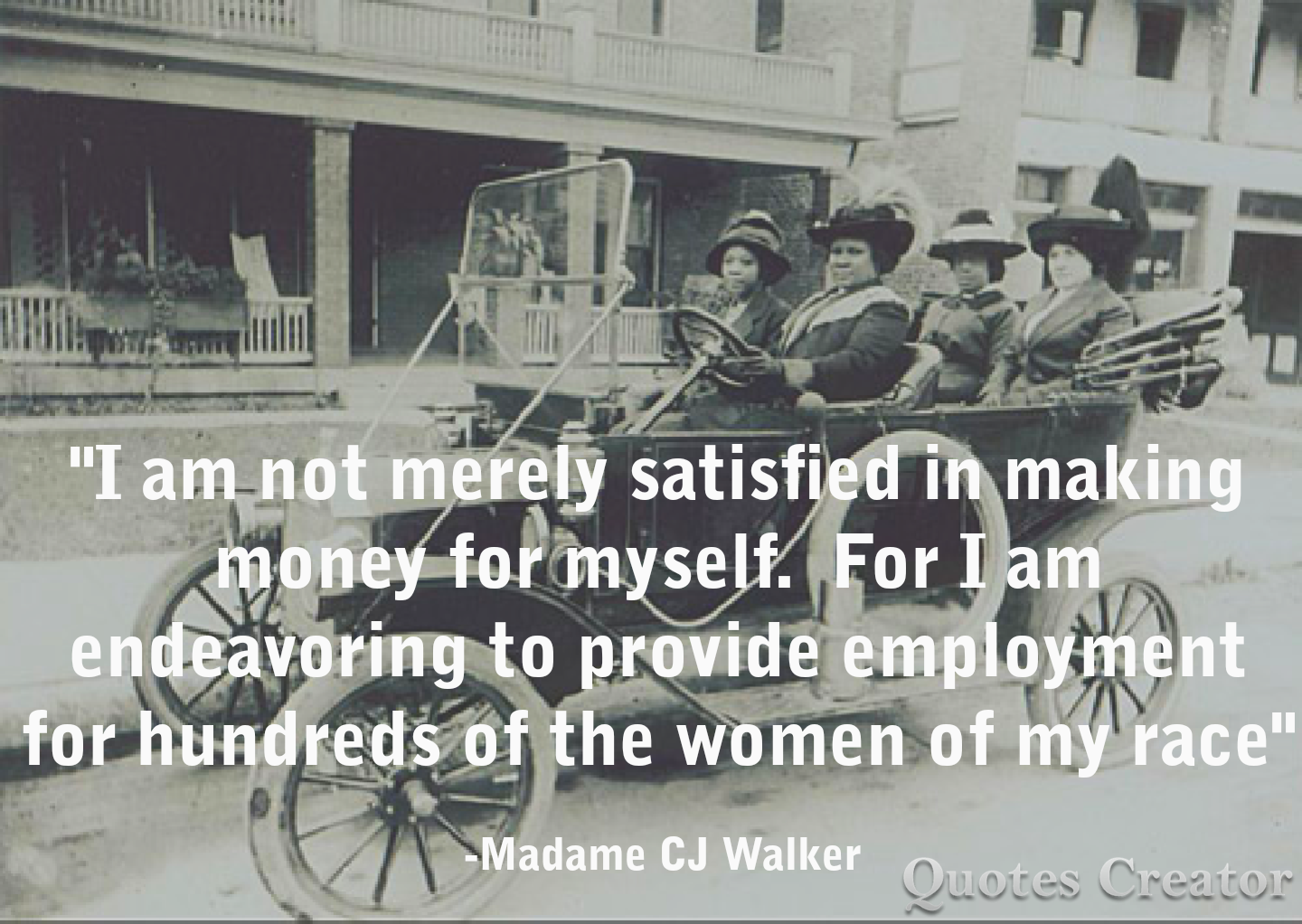 Madam Cj Walker Quotes Unique Madame Cj Walker Quote  Black History  Pinterest  Black History Decorating Design