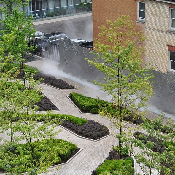 Four seasons hotel and residences in toronto ontario for Landscape architecture canada