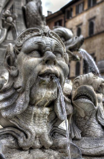 fontana piazza della Rotonda | Rome, Italy