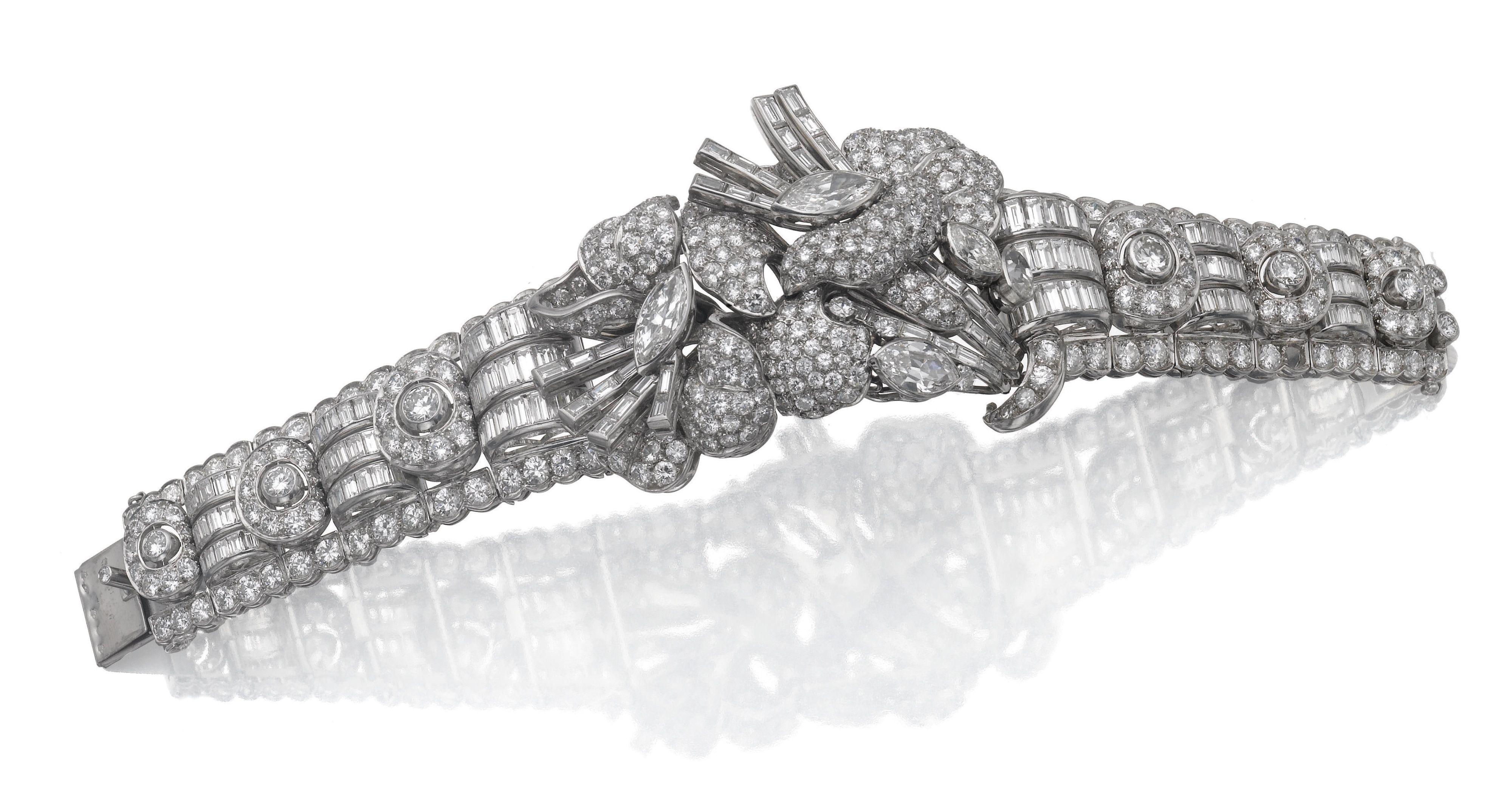 Diamond bracelet ucpuesucpue lot sothebyus armschmuck