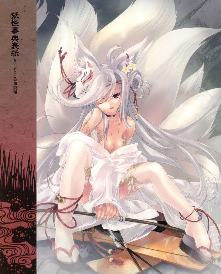 inuyasha with albino girl