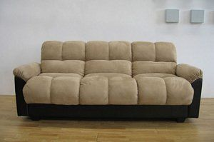 Contemporary Klik Klak Comfortable Futon Sofa Bed Sleeper Couch Cheap