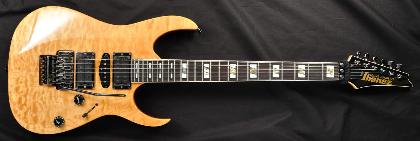 8 '91 Ibanez RG USA Custom One of the reasons I pinned it, is that I