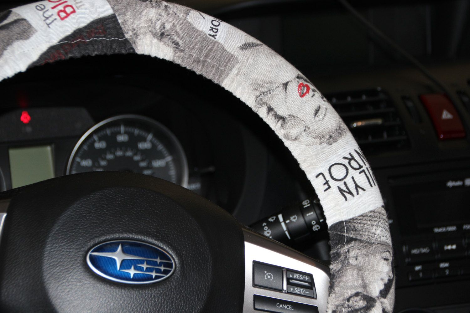 Marilyn Monroe Steering Wheel Cover