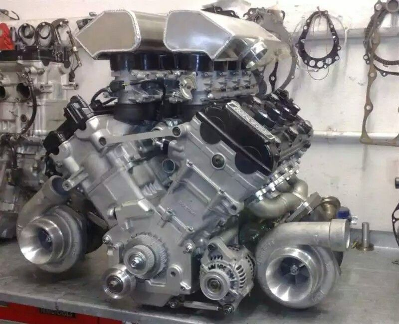 TT, TURBO= THE HAYABUSA 242LBS COMPLETE (968 9HP) AND ALL (713-TQ
