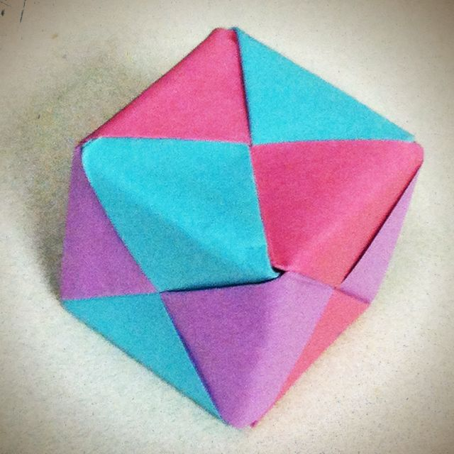 Made A Box Out Of Post It Notes Creativity Pinterest Origami