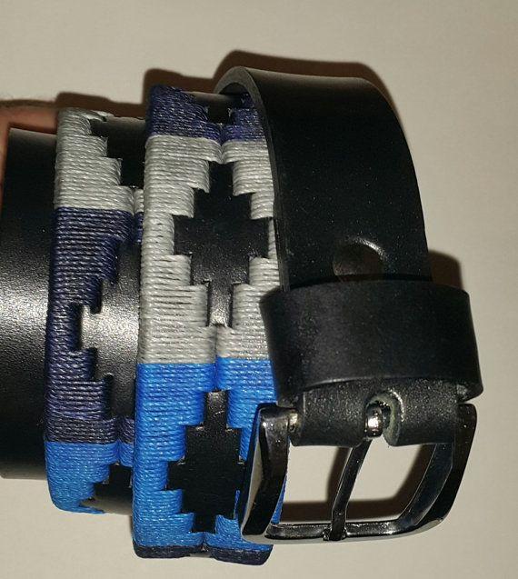 Ceinture en cuir véritable métier pour homme - ceinture Gaucho - Argentine  - Guarda Pampa à motifs ddeb64721f4