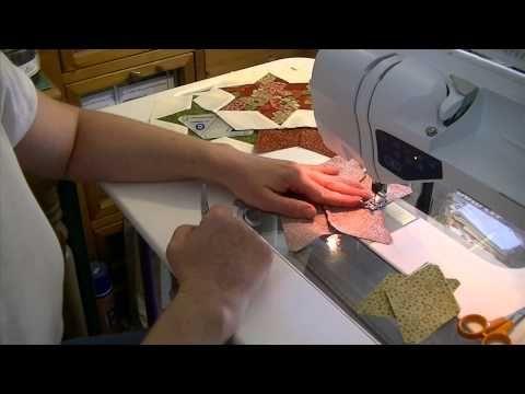 Etoiles losanges - Assemblage du bloc