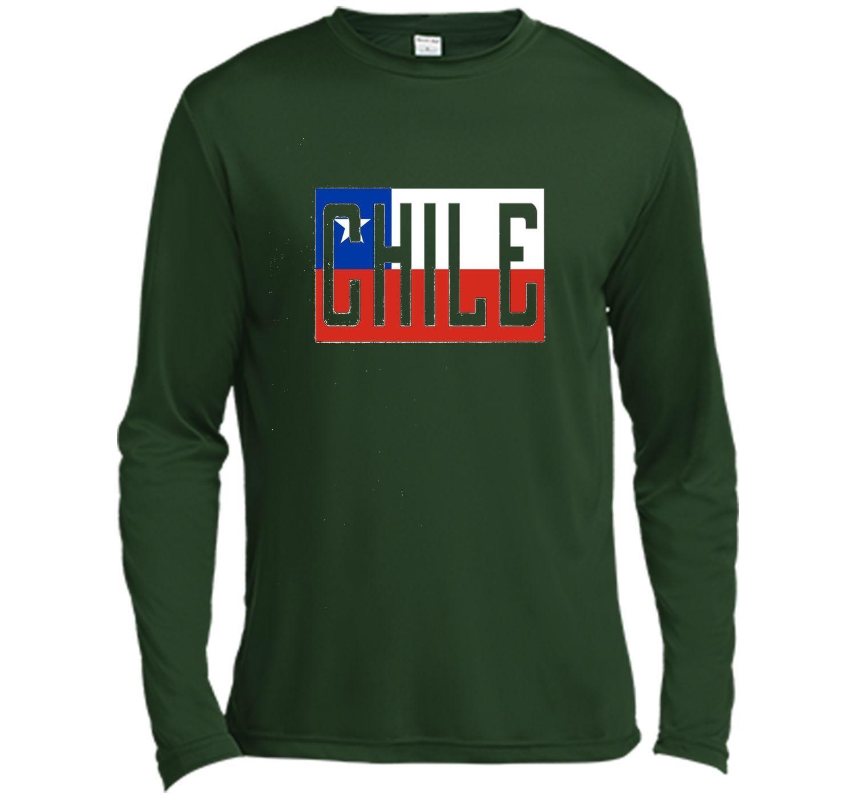 Chile Flag Design National Chilean Pride Unisex T-Shirt