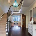 Fresh Modern Colonial - Modern - Staircase - dc metro - by Barnes Vanze Architects, Inc
