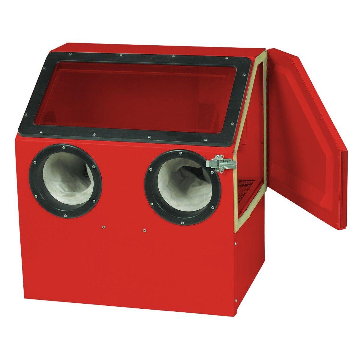 Central Pneumatic 42202 Abrasive Blast Cabinet  sc 1 st  Pinterest & Benchtop Blast Cabinet | FBG | Pinterest