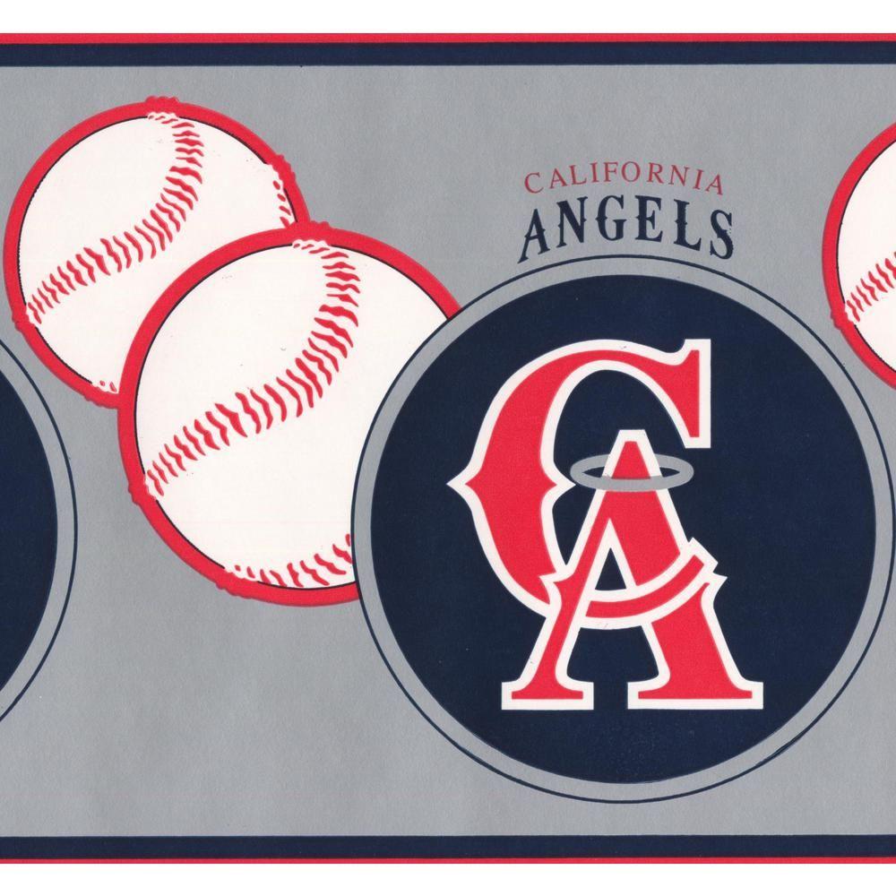 Retro Art Vintage California Angels MLB Baseball Team Fan