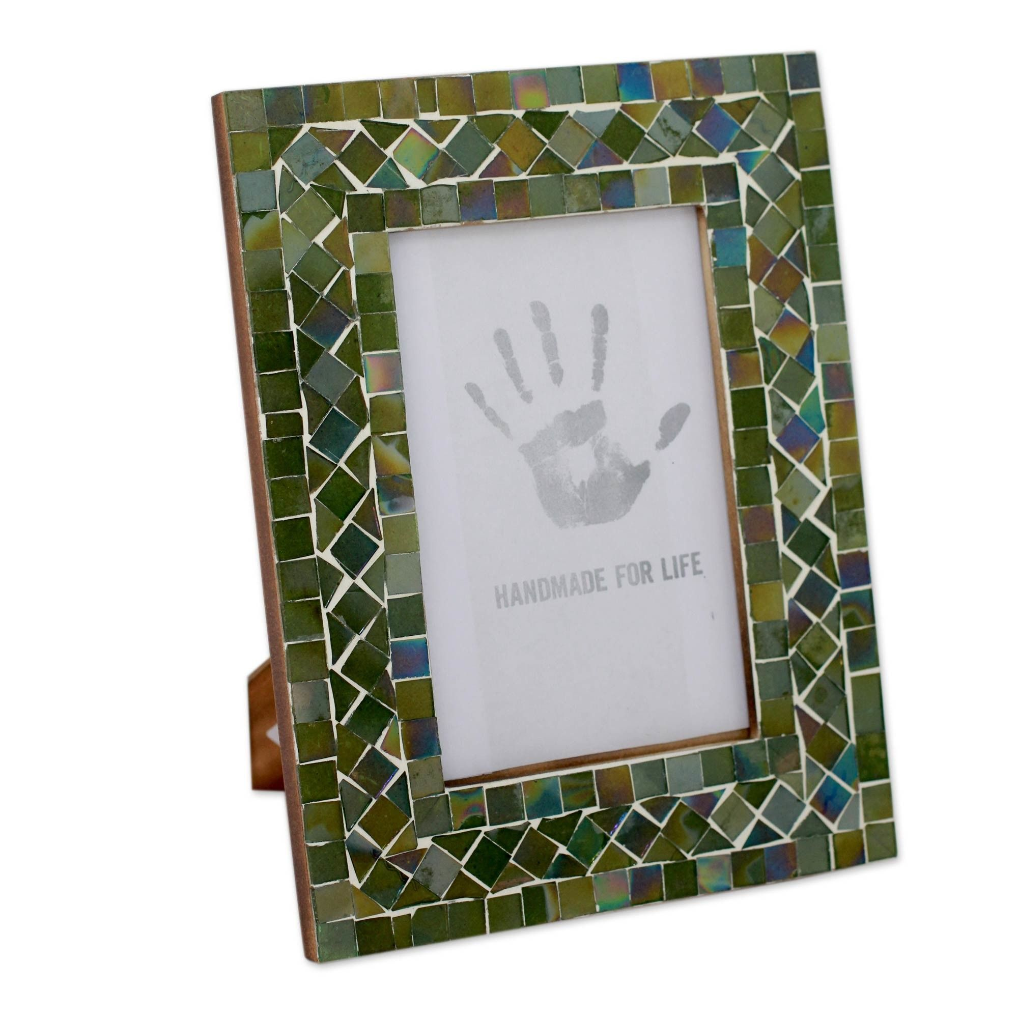 Glass Mosaic Picture Frame