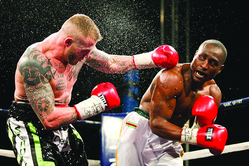 Maridzo, Moyo head for Namibia boxing bill