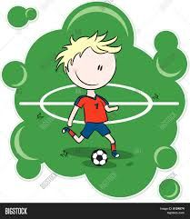 Resultado de imagen para dibujo de una cancha de futbol animada