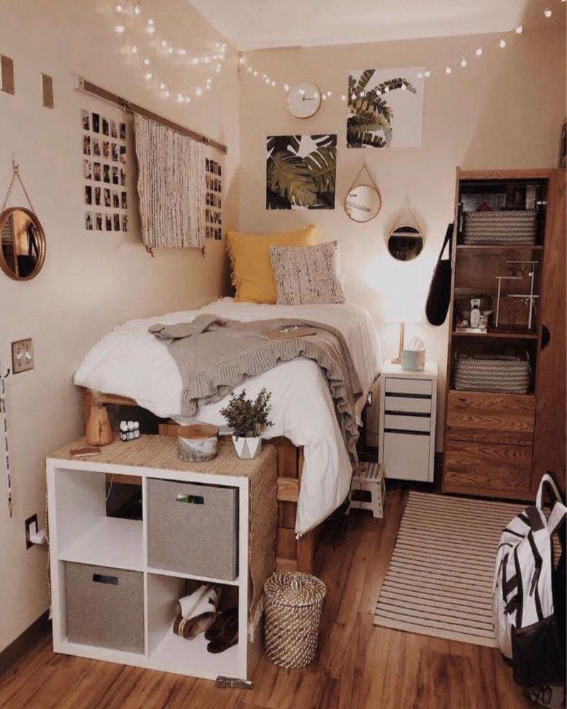 Cute Dorm Rooms 18 Swoon Worthy Ideas Handpicked For 2019 Small Room Bedroom Dorm Room Designs College Dorm Room Decor