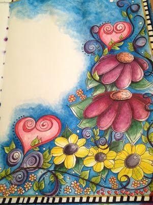 Doodling In My Art Journal