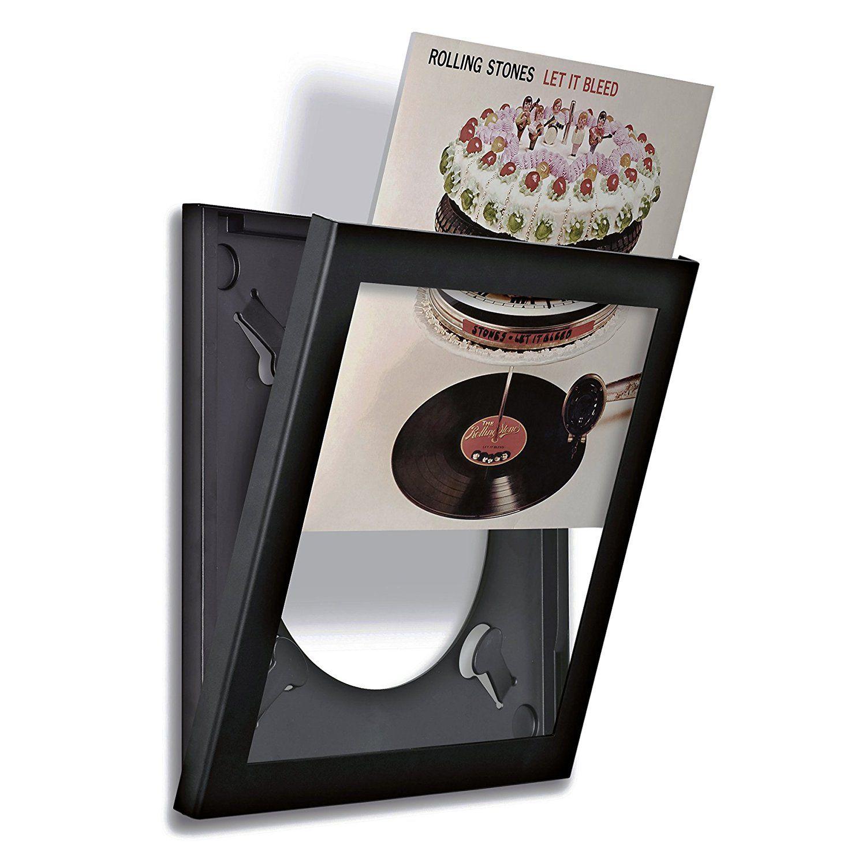 Cornice Art Vinyl Flip Frame Confezione Singola Nera Amazon It Commercio Industria E Scienza Cornici Vinile Vinili