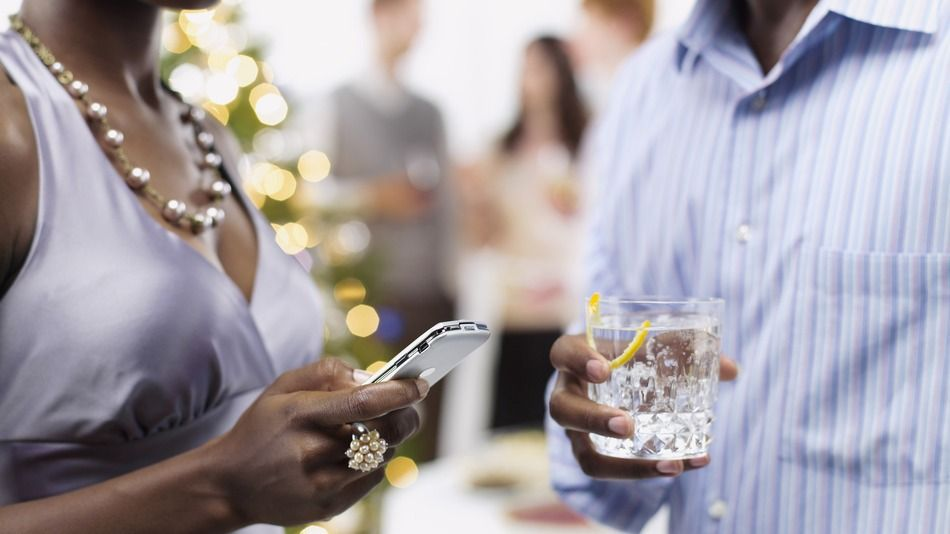 How to survive your office party using apps