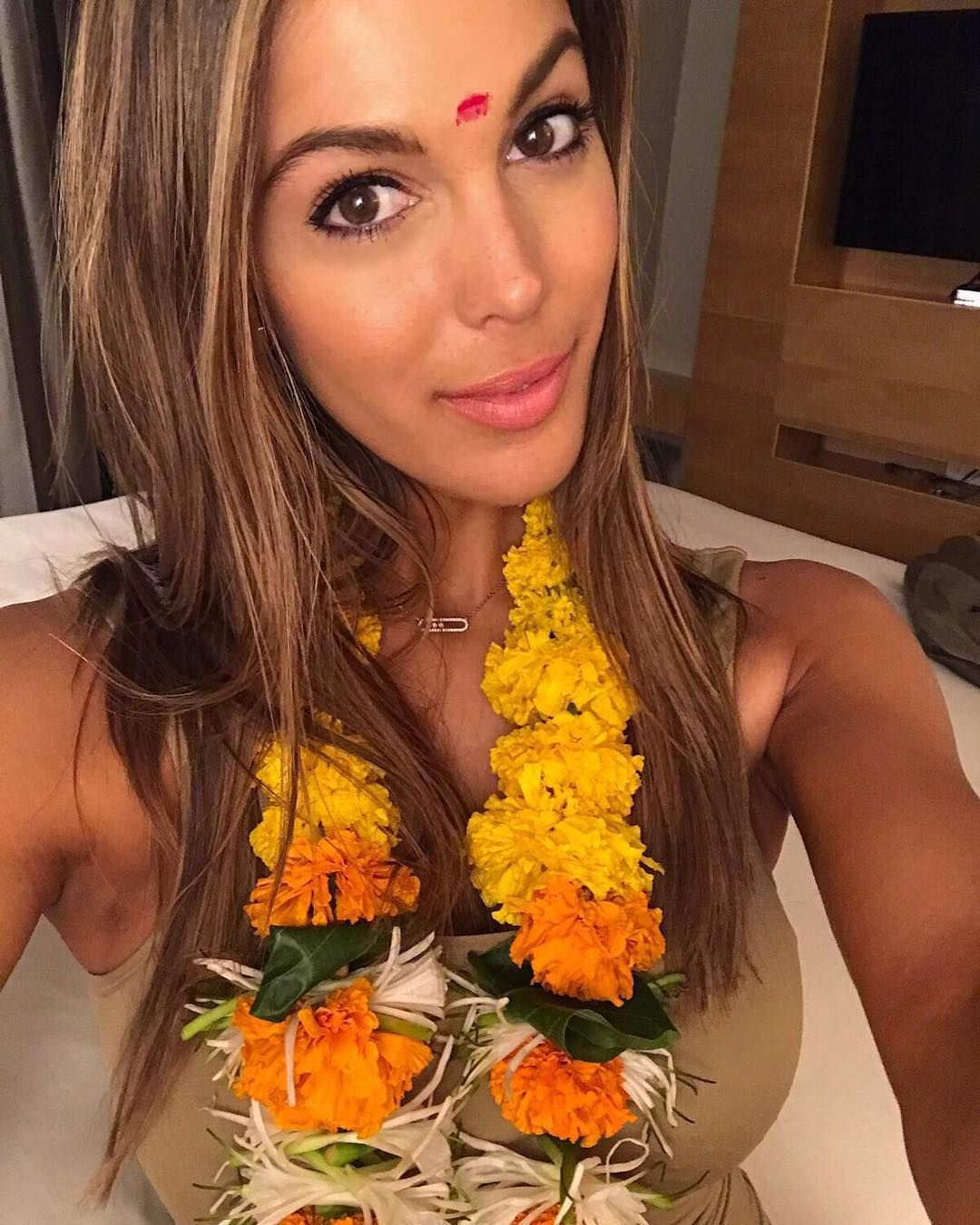 MissUniverse Iris Mittenaere has landed in India!