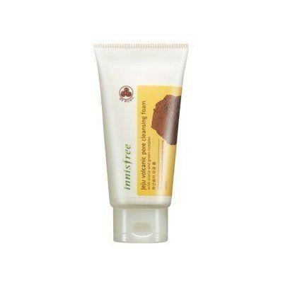 Innisfree Jeju Volcanic Pore Cleansing Foam, 5.09 Ounce Lavender Dream Antioxidant & Firming Night Cream - 1.1 oz. by SanRe Organic Skinfood (pack of 1)