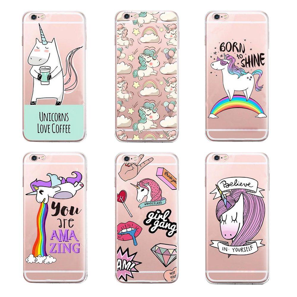 Cute UNICORN Transparent Slim silicone Case Cover For iPhone SE 5 6 7 PLUS https://t.co/3jIQSKfLBT https://t.co/eTC9K5G0oJ