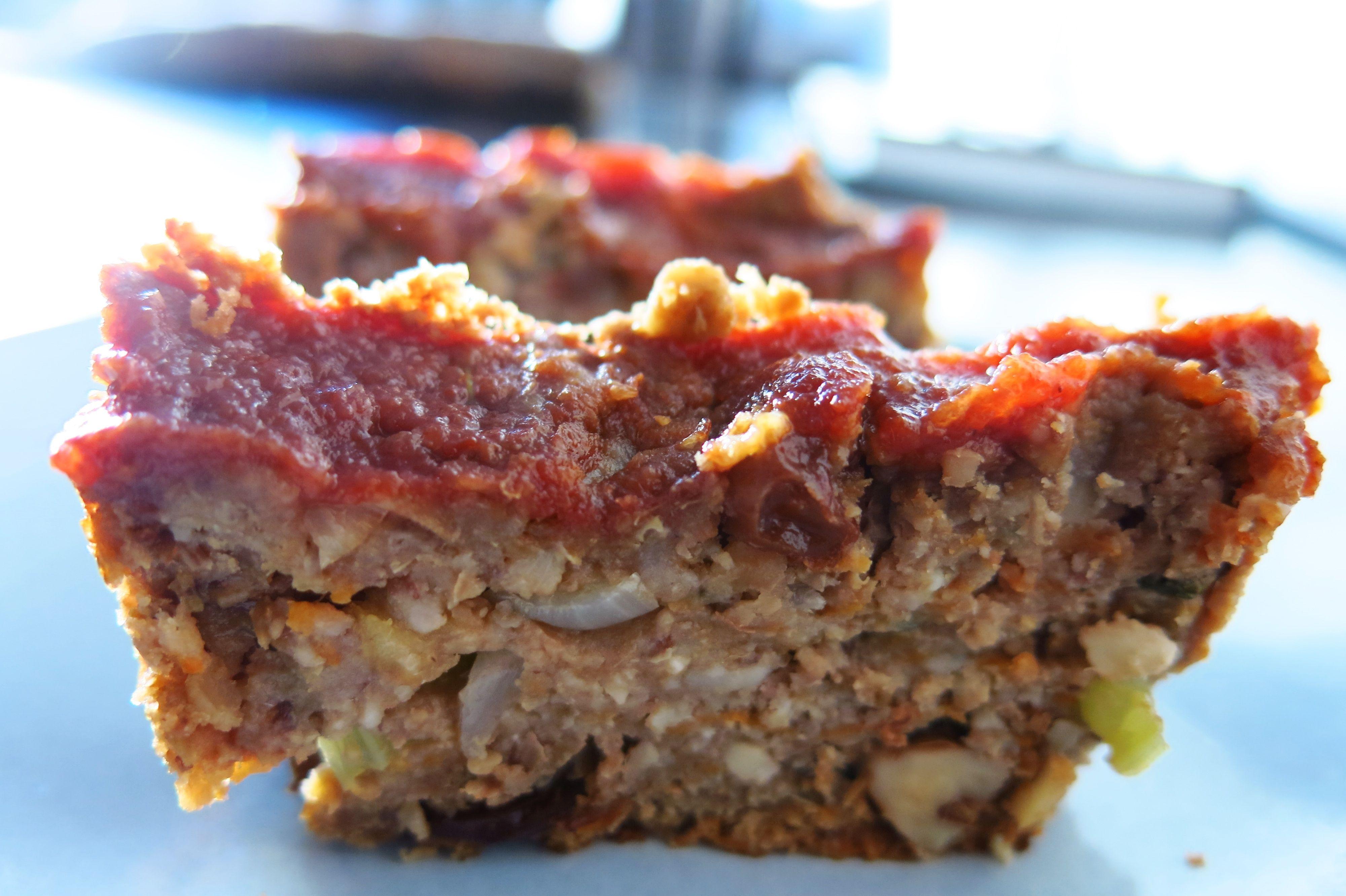 how to make vegan meatloaf