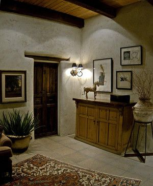 Adobe House Design Ideas Pictures Remodel And Decor Adobe House Spanish Living Room House Design