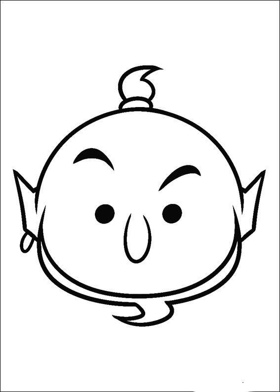 Tshum Tshum Coloring Pages 6 Tsum Tsum Para Colorear Dibujos Faciles Dibujos Para Colorear