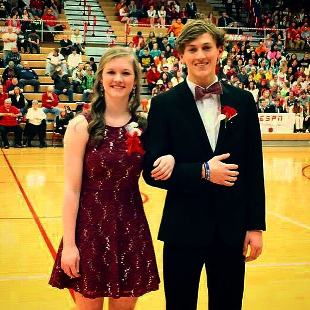 @PlymouthHSpcsc: Homecoming 2015 queen is ... Haley Harrell and Jacob Hildebrand! CONGRATS!!!