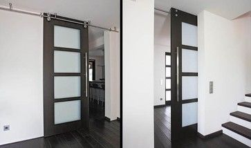 Floor To Ceiling Sliding Door With Twin System Barn Hardware B50 Modern Interior Doors
