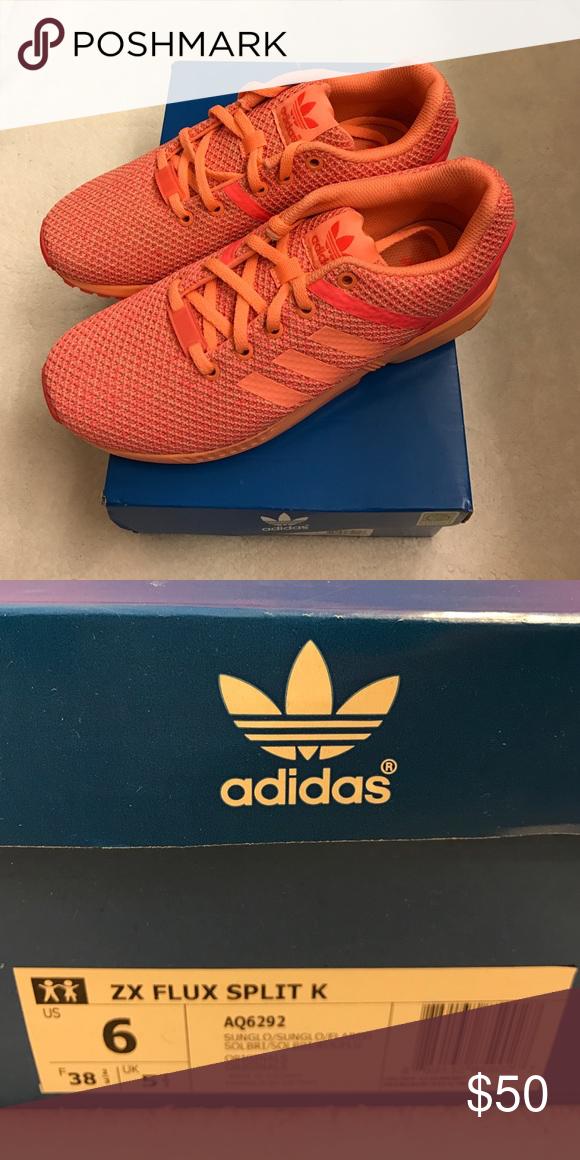 nuove adidas flusso coral zx flusso diviso comode scarpe quotidiana