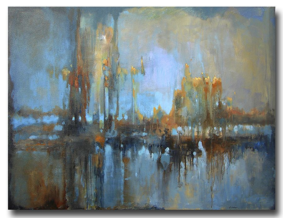 "Miracle by Christopher Westfall Acrylic ~ 36"" x 48"""