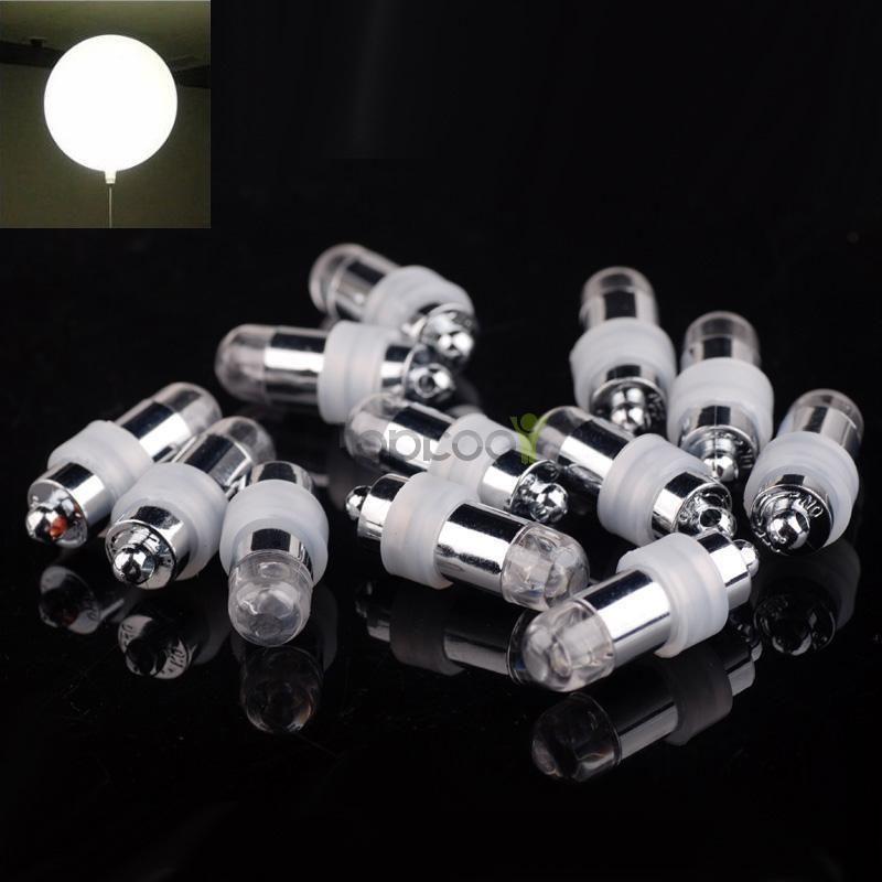 12 LED Light Paper Lantern Waterproof Balloon Floral ~ Wedding Party Decoration
