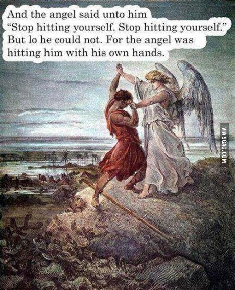 Cruelty of angels