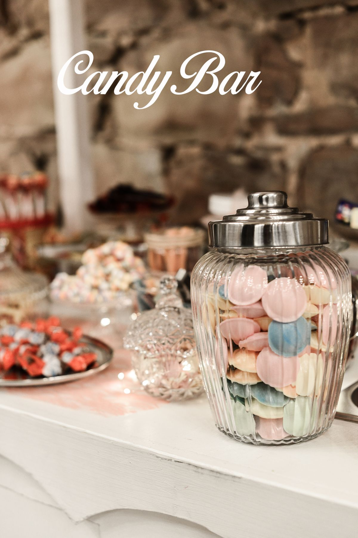 Candy Bar Hochzeit Vintage Candy Bar Zubehor Candy Ideen