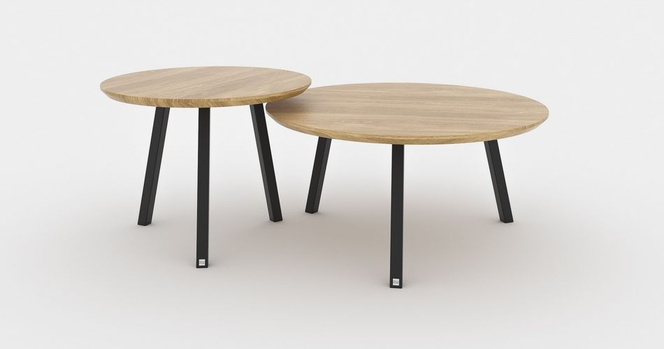 Set Tables Basses Bois Duo De Tables De Salon Design En 2020 Table Basse Bois Table Basse Bois Metal Table De Salon Design