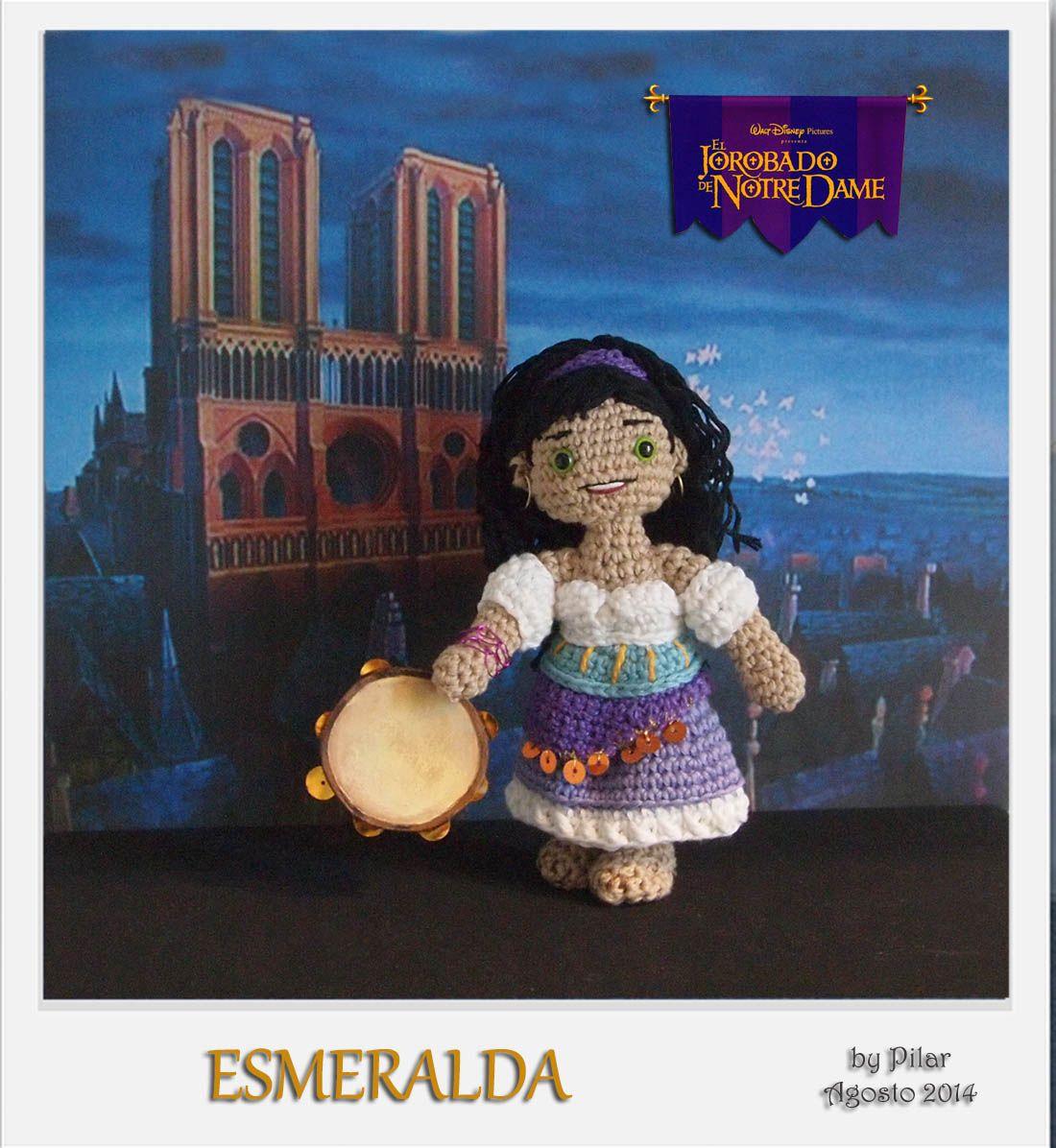 #amigurumi #Esmeralda