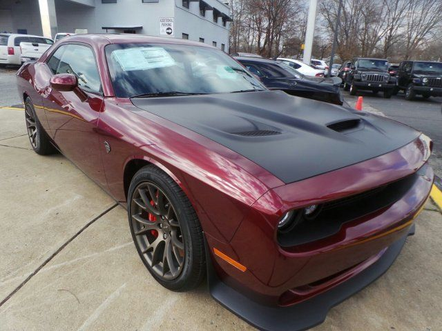 Octane Red with Satin Hood Dodge Challenger SRT Hellcat | SRT ...