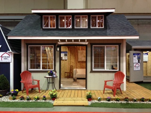 12x16 Garden Cottage Style. custom built, garden shed, mother in law home, playhouse