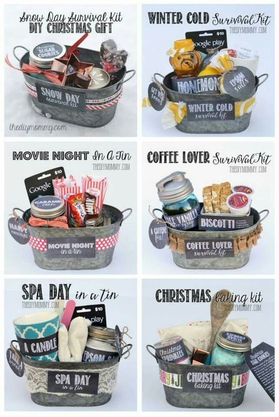 25+ DIY Christmas Basket Ideas for Families and Friends   Basket ...